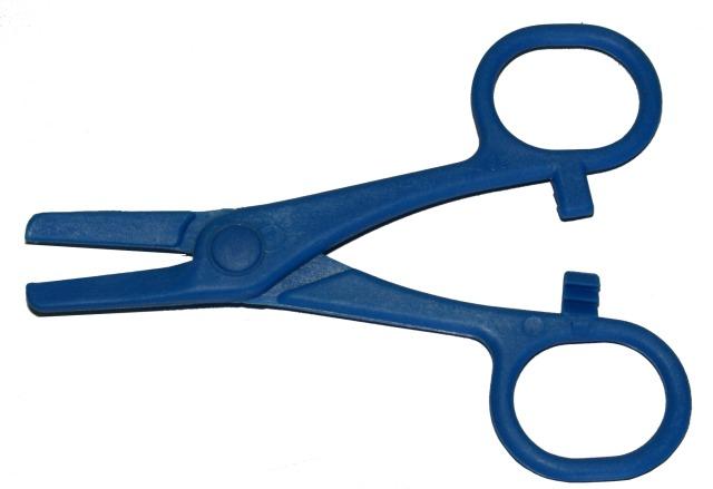 Schlauchklemme, Blau, 120mm