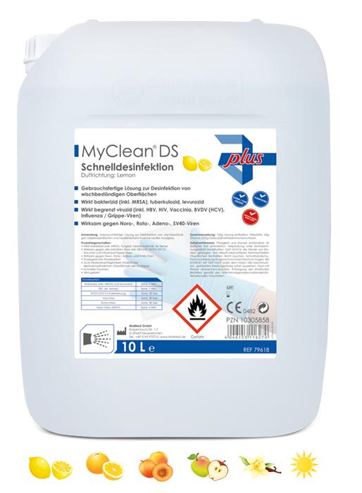 MyClean DS Schnelldesi-Pfirsich-10 Ltr.