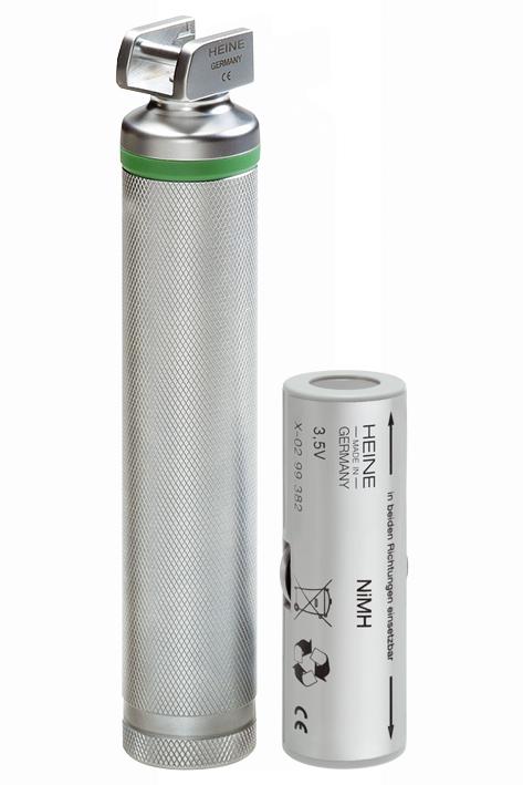 Standard F.O. LED Laryngoskopgriff 3,5 V, (NiMH) komplett