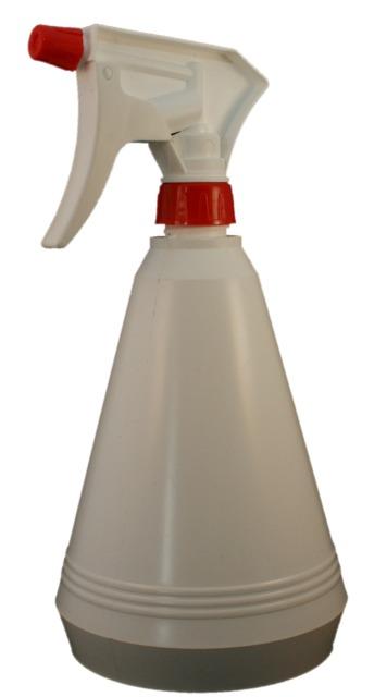 Zerstäuberflasche, PP, weiß, 850 ml