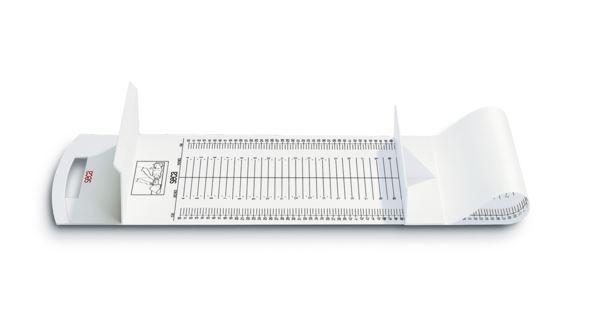 mobile Messmatte seca 210 für Säuglinge, und Kleinkinder, weiß