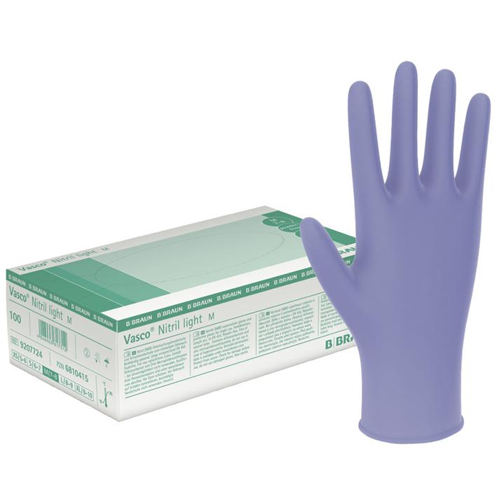 Vasco Nitril light U.-Handschuhe, PF, Gr. XL, unsteril (90 Stck.)