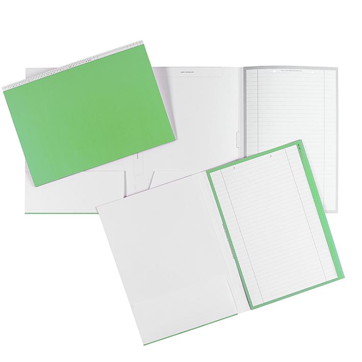 Karteimappen DIN A4 quer grün für alle Fachrichtungen (100 Stck.)
