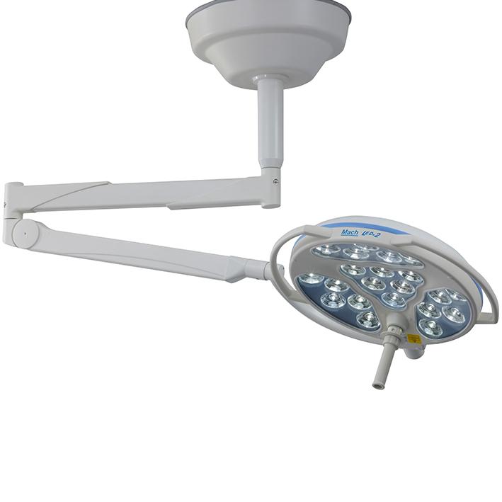 Mach LED 2sc (Single Colour) OP-Leuchte, Deckenmodell, zentralem Federarm