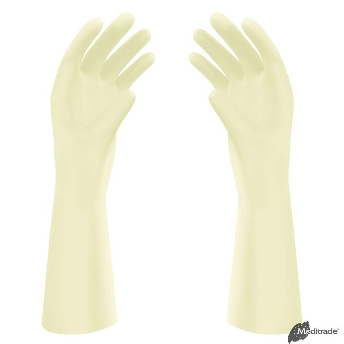 Gentle Skin Premium OP-Handschuhe, Latex, PF, steril, Gr. 7 (50 Paar)