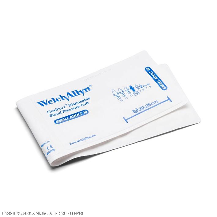 FlexiPort Einmal-Manschetten (20 Stck.), ohne Schlauch, für Erwachsene, klein, ohne Geräteanschluss