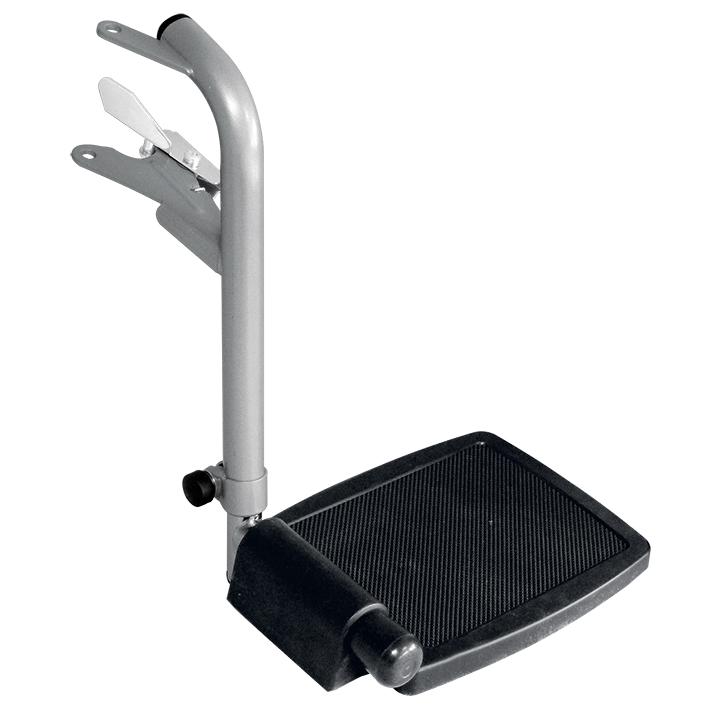 Beinstütze pulverbeschichtet rechts, für Toilettenstuhl MEG 964400, alte Ausführung