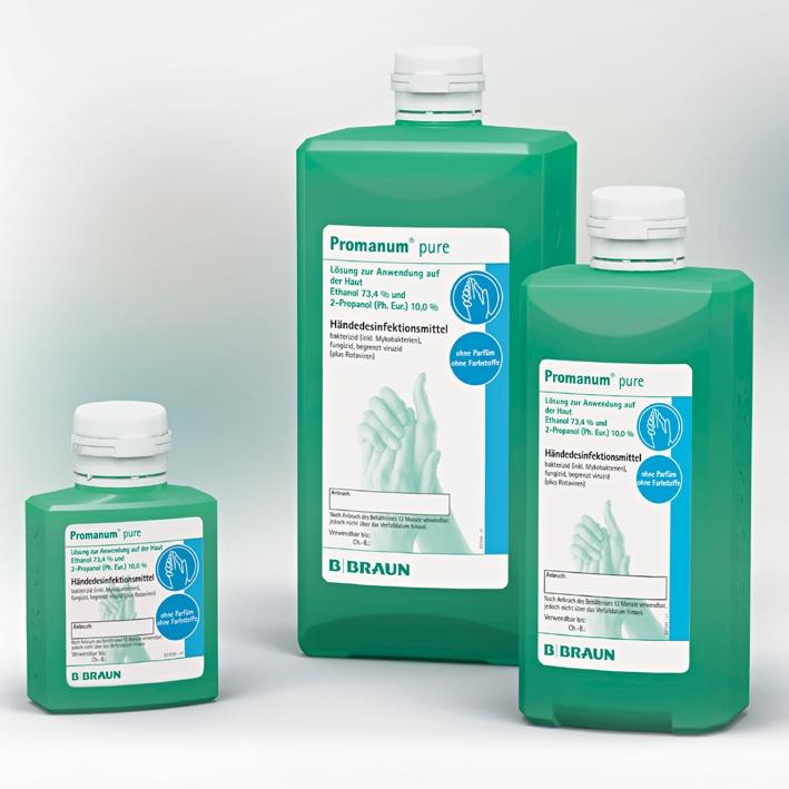 Promanum pure 1000 ml Spenderflasche, Händedesinfektion