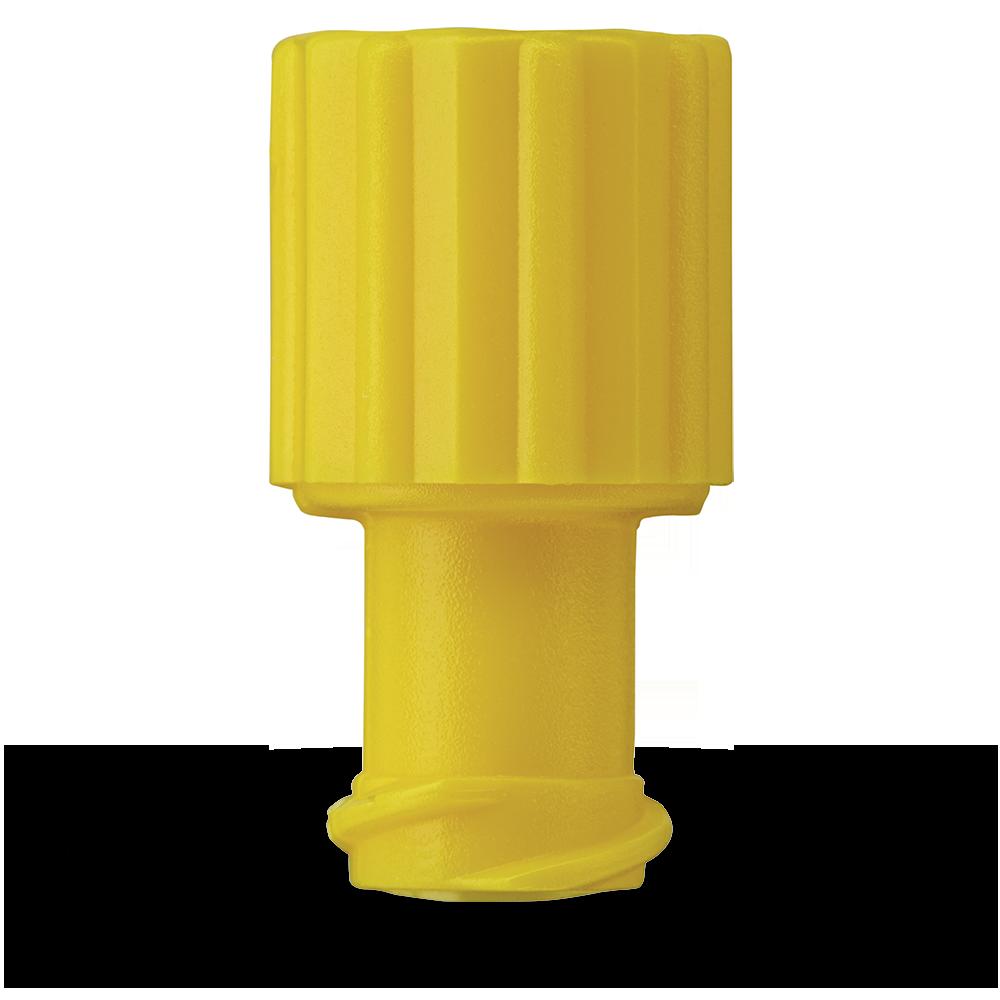 Kombistopfen gelb LL (100 St.)