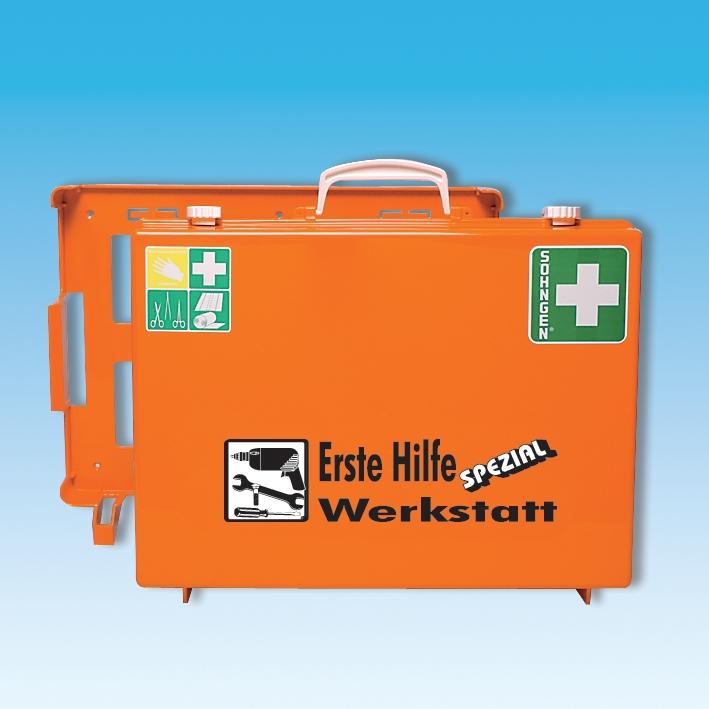 Erste-Hilfe Koffer Spezial, MT-CD Werkstatt