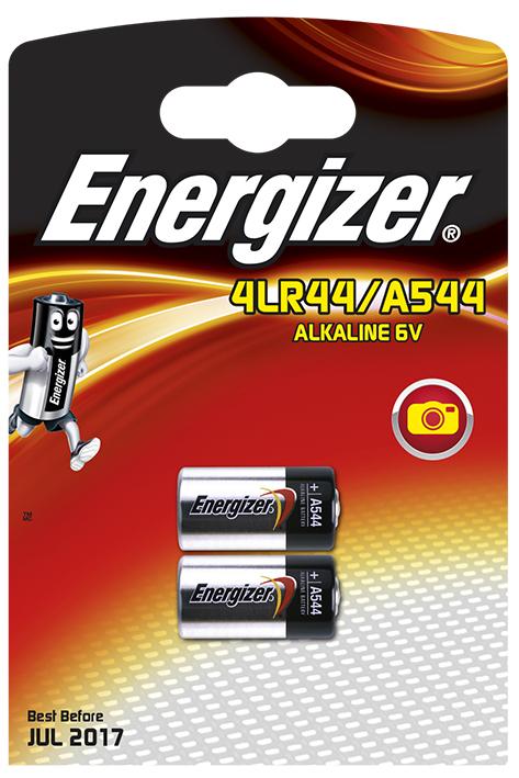 Energizer Spezialbatterie A544, Typ 4LR44 6 V (2er-Pack)