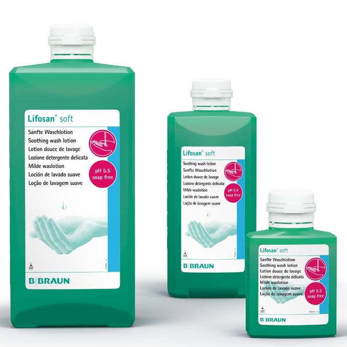 Lifosan soft 500 ml Waschlotion
