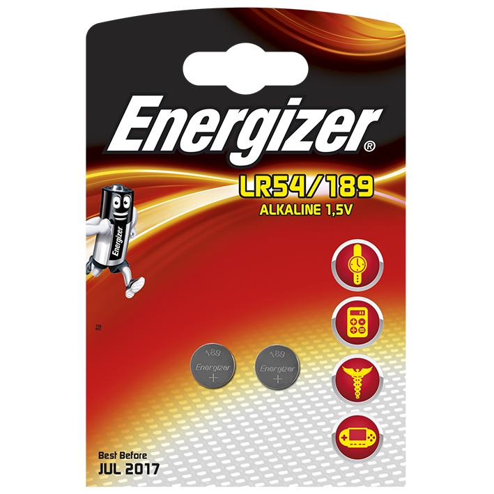 Energizer Spezialbatterie 189, Typ LR54 1,5 V (2er Pack)