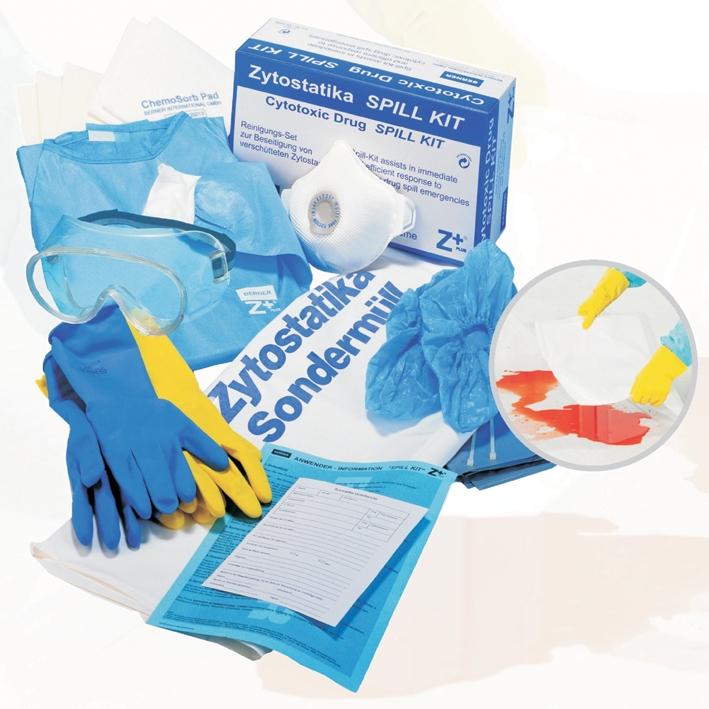 Notfall- und Reinigungsset, SpillKit Z+plus, Gr. Uni