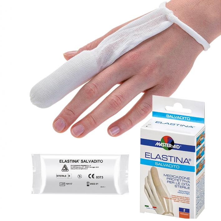 Elastina Salvadito universal, Fingerverband, steril (2 Stck.)