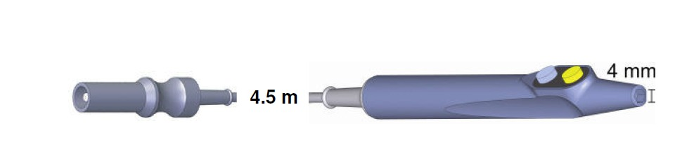 Handgriff Budget 103480, AES-BER-MAR, 4,5 mtr.