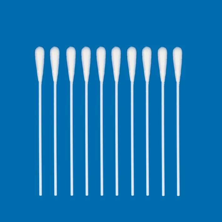 Wattestäbchen Kunststoff, einzeln in Peel-Packung (100 Stck.),