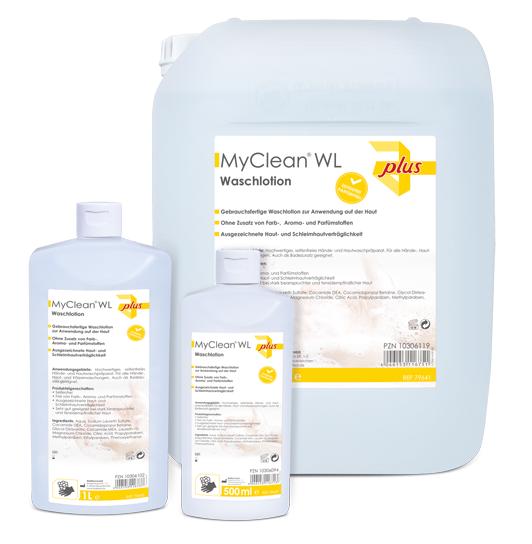 MyClean WL Waschlotion, 1l/Fl., 1 St.-Serie:plus
