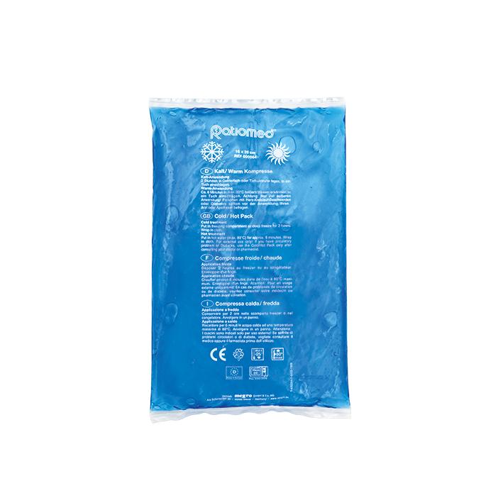 Kalt-/Warm-Kompresse ratiomed, blau, 16 x 26 cm