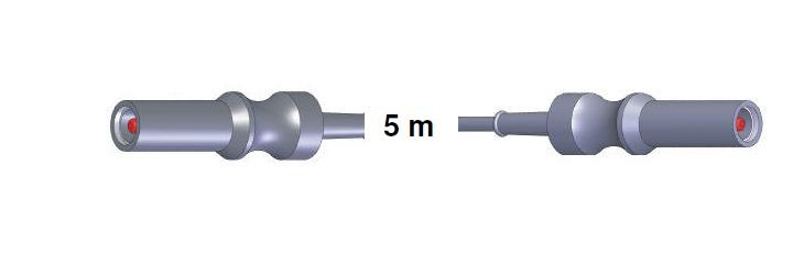 Anschlusskabel AES-BER-MAR -> S-B-S-AES-BER-MAR, 5,0 mtr.